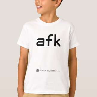 Camiseta AFK - Longe do teclado