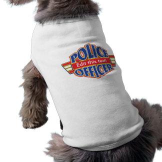 Camiseta Agente da polícia feito sob encomenda