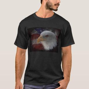 Camisetas Bandeira Americana águia personalizadas b879ffa980184