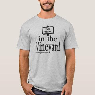 Camiseta Ajuda querida no vinhedo
