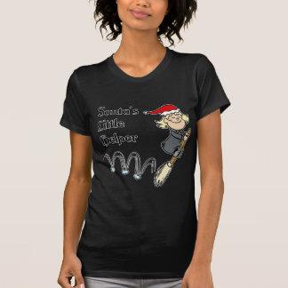 Camiseta Ajudante pequeno do papai noel