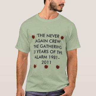 Camiseta Alarme a papoila, papoila do alarme, papoila do