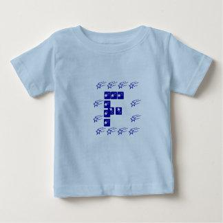 Camiseta ALFA da identidade - equipe F da estrela