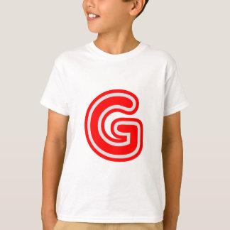 Camiseta Alfabeto ALPHAG GGG