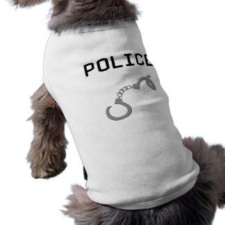 Camiseta Algemas da polícia