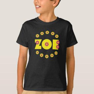 Camiseta Amarelo de Zoe Flores
