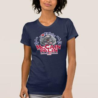 Camiseta Amor de McCain Palin meu partido
