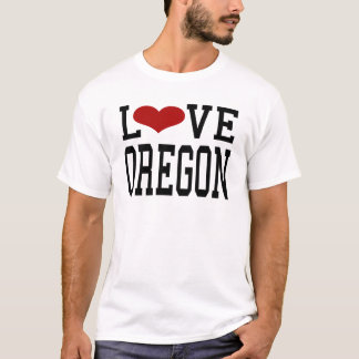CAMISETA AMOR OREGON