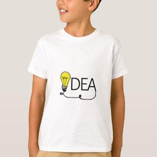 Camiseta Ampola da ideia, ampola