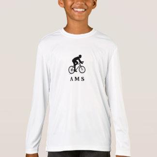 Camiseta AMS de ciclagem holandês de Amsterdão