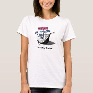 Camiseta Amsterdão, a cebola grande