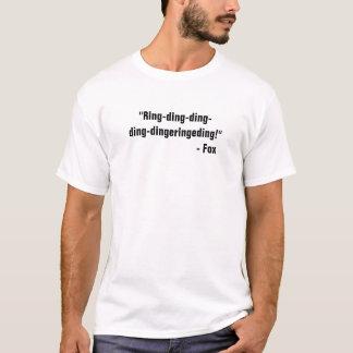 Camiseta Anel-ding-ding-ding-dingeringeding!  - F0x