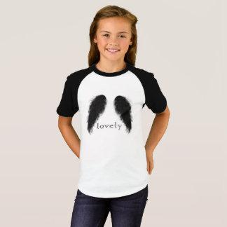 Camiseta anjo preto