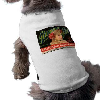 Camiseta Anúncio do vintage dos vegetais de Califórnia da m