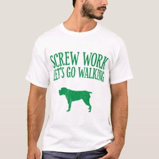 Camiseta Apontar Griffon Wirehaired