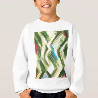 Camiseta Arbustos e arbustos verdes Pastel (cubism