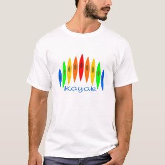 Camiseta Arco-íris dos caiaque