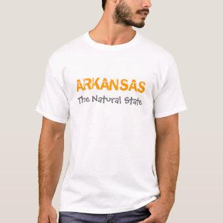 Camiseta Arkansas a terra de estado natural de oportunidade