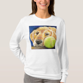 Camiseta Arte bonito do golden retriever