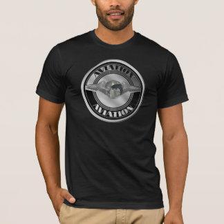 Camiseta Arte da aviação do vintage