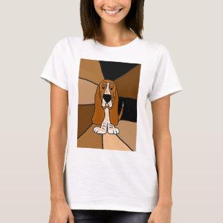 Camiseta Arte do cão de Basset Hound