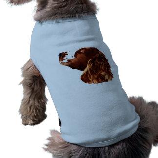 Camiseta Arte do Spaniel de galês Springer