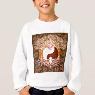 Camiseta Árvore do coração de Ying Yang de vida