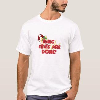 Camiseta As fritadas de Ding são feitas