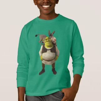 Camiseta Asno e Shrek