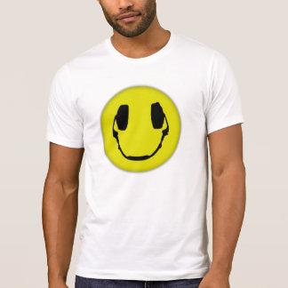 Camiseta Auscultadores feliz