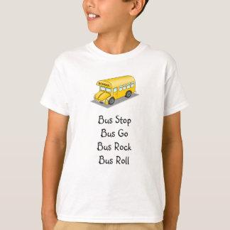Camiseta Auto escolar amarelo