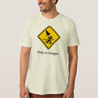 Camiseta Aviso do ataque da coruja de Oregon