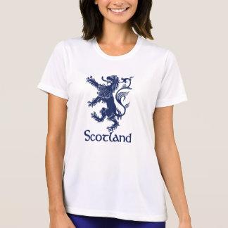 Camiseta Azuis marinhos desenfreados escoceses do leão