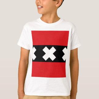Camiseta Bandeira de Amsterdão