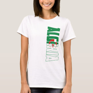 Camiseta Bandeira de Argélia