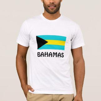 Camiseta Bandeira de Bahamas
