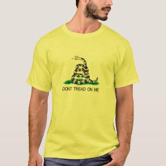Camiseta Bandeira de Gadsden - mestre temível