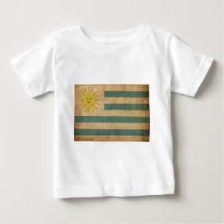 Camiseta Bandeira de Uruguai do vintage
