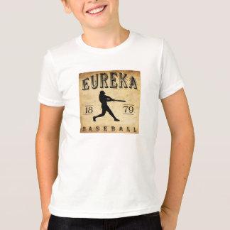 Camiseta Basebol 1879 de Eureka Califórnia
