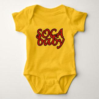 Camiseta Bebê-T-Camisa de Soca