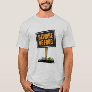 Camiseta Beware do sapo