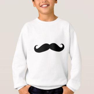 Camiseta Bigode preto ou Moustache preto para presentes do