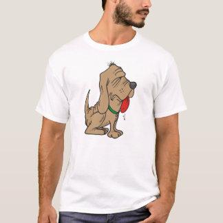 Camiseta bloodhound dos desenhos animados