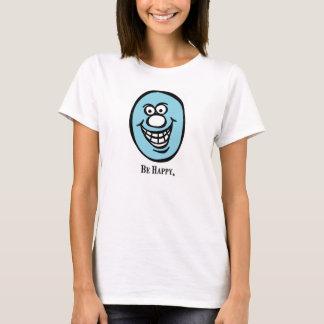 Camiseta *Blue do smiley face (esteja feliz)