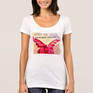 Camiseta Boas impressões