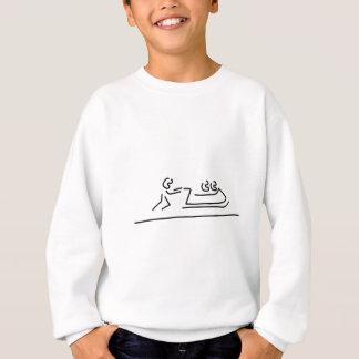 Camiseta bob wintersport bobfahrer condutor trenó