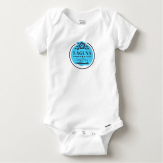 Camiseta Body Algodão Bebé Surf