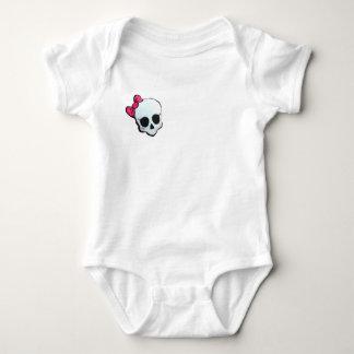 Camiseta Body básico caveira