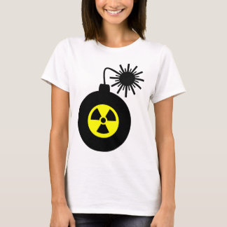 Camiseta Bomba potência nuclear