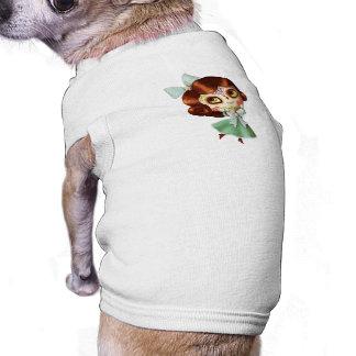 Camiseta Boneca de Diâmetro de Los Muertos Vintage